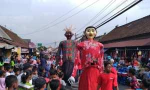 Perayaan Yaqowiyyu di Kecamatan Jatinom, Kamis (26/10/2017). (Cahyadi Kurniawan/JIBI/Solopos)