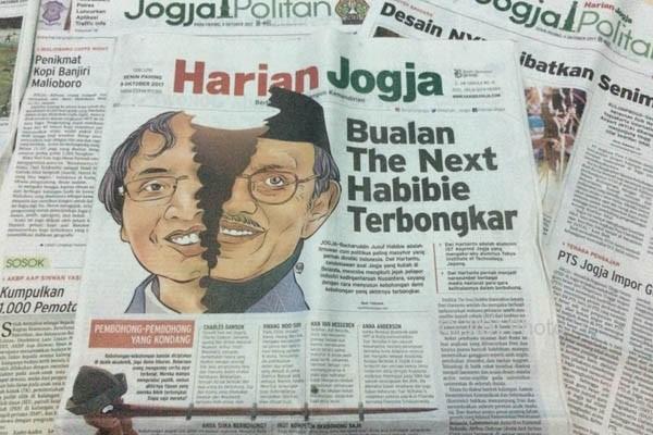 Harian Jogja edisi Senin (9/10/2017)