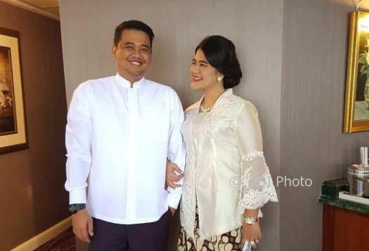 Bobby Nasution dan Kahiyang Ayu (Instagram @ayanggkahiyang)