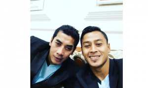 Chairul Huda berfoto bersama Samsul Arif Munip (Instagram)
