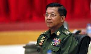 Min Aung Hlaing. (Istimewa/sybc)