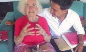 Hamish Daud dan mendiang neneknya (Instagram @hamishdw)