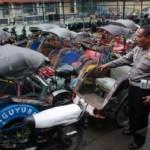 Becak Motor Diburu di Semarang, Polisi Segel Bengkel Perakitnya
