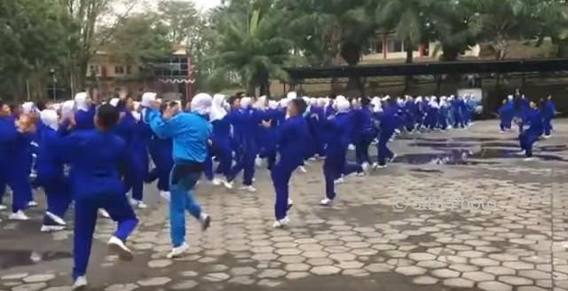 Ilustrasi kegiatan Diksamendispra IPDN angkatan ke-28 tahun 2017 di Akpol Semarang. (Youtube.com)