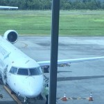KECELAKAAN PESAWAT : Tangga Pesawat Roboh di Bandara Ahmad Yani, 9 Orang Terluka