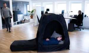 Tenda penghilang stres (Odditycentral.com)