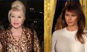 Ivana Trump dan Melania Trump (Cnn.com)