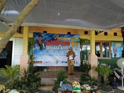 Pencanangan Kampung KB di Dusun Cembing, Desa Trimulyo, Jetis, Bantul, Selasa(10/10/17). (M102/JIBI/Harian Jogja)