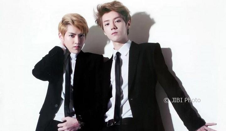 Kris (kiri) dan Luhan (Allkpop)