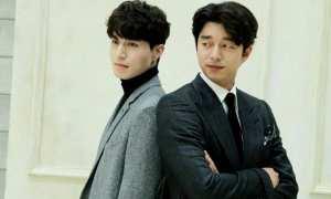 Lee Dong Wook dan Gong Yoo (Allkpop)
