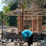 WISATA KLATEN : Warga Swadaya Bangun Ulang Menara Baskoro di Pandanan Karanganom