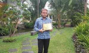 Melia Purosani - GM & Green Hotel Award 2017