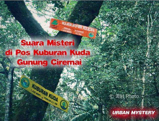 Misteri Pos Kuburan Kuda (Instagram @urban.hikers)