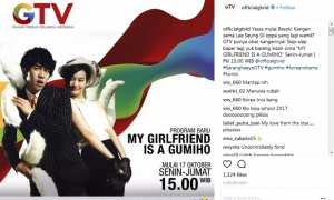 My Girlfriend is a Gumiho di GTV (Instagram @officialgtvid)