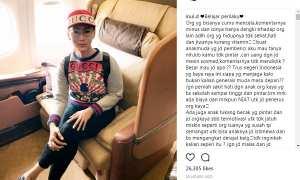 Pesan Inul kepada haters-nya (Instagram @inul.d)