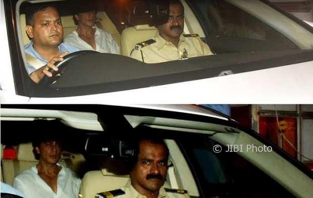 Shah Rukh Khan mendatangi rumah duka Rani Mukerji (Times of India)