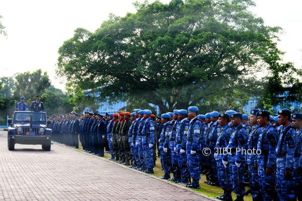 Peringatan HUT TNI ke-72 oleh TNI AU DIY pada Kamis (10/5/2017). (Istimewa/TNI AU)