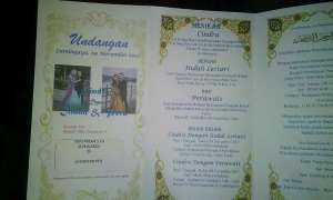 Undangan pernikahan dengan dua perempuan sekaligus (Facebook)