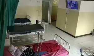 Video viral ranjang rumah sakit gerak sendiri (Instagram)