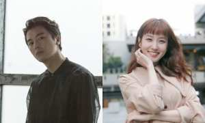 Yeon Woo Jin dan Park Eun Bin (Soompi)