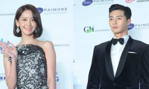 Yoona dan Park Seo Joon di Daejong Film Awards ke-54 (Allkpop)