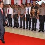 FOTO AGENDA PRESIDEN : Begini Jokowi di Akpol Semarang…