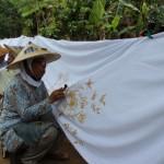 BATIK KLATEN : Pakai Pewarna Alami, Perajin Batik Kebon Raup Omzet Rp100 Juta/bulan