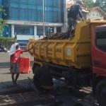KEBERSIHAN SEMARANG : Dikeruk, Sampah di Gorong-Gorong Jl. Kaligarang Capai Satu Bak Truk