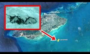 Identifikasi lewat citra satelit soal letak temuan Piramida. (Istimewa/Youtube)