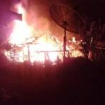 KEBAKARAN PONOROGO : Ditinggal Yasinan, Rumah Petani Ngrayun Ludes Terbakar