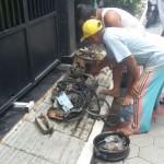 KEBAKARAN MADIUN : Kompor Gas Terbakar, Warga Perumahan Manisrejo Geger