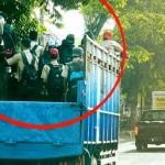 KENAKALAN REMAJA : Numpang di Bak Truk, Pelajar di Semarang Malah Dimaklumi