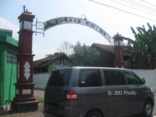Gapura gerbang masuk Dukuh Kleben, Kelurahan Mandan, Kecamatan Sukoharjo, Kabupaten Sukoharjo. (Trianto Hery Suryono/JIBI/Solopos)