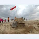 HARI KESAKTIAN PANCASILA : Sukarelawan Prihatin Monumen Perisai Pancasila di Solo Kritis