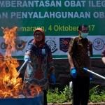 BBPOM Semarang Musnahkan Obat Ilegal Rp3,4 M