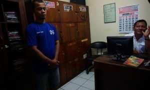 Polsek Kasihan berhasil mengamankan pelaku pencurian motor, televisi dan laptop, Minggu (22/10/2017) di Wonocatur, Banguntapan. (Herlambang Jati Kusumo/JIBI/Harian Jogja)