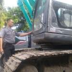 Tambang Pasir Ilegal di Jambidan Ditutup, Alat Berat Disita
