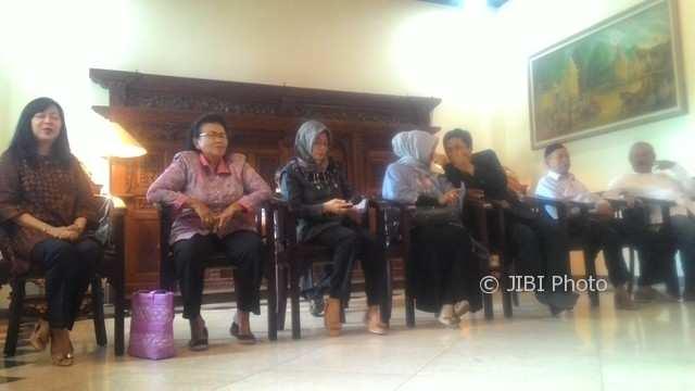 Para MC yang ditunjuk untuk memandu acara resepsi pernikahan Kahiyang Ayu-Bobby Nasution. (Irawan Sapto Adhi/JIBI/Solopos)