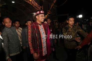 Bobby Nasution saat malam midodareni. (Nicolaus Irawan/JIBI/Solopos)