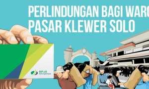 Potensi kepesertaan BPJS Ketenagakerjaan di Pasar Klewer Solo. (Whisnu Paksa/JIBI/Solopos)