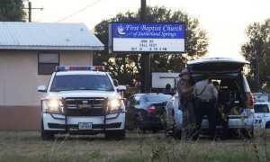 Tempat kejadian perkara penembakan di Texas, Minggu (5/11/2017) waktu setempat. (JIBI/Reuters)