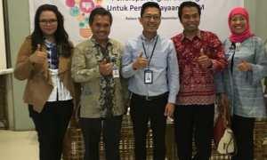 Para narasumber workshop Penerapan Digital Banking untuk Pemberdayaan UMKM di Ralana Resto and Eatery, Solo, Rabu (22/11/2017). (Istimewa)