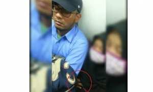Aksi diduga pelecehan seksual terjadi di kereta jurusan Bogor (Instagram)