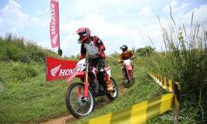 All New Honda CRF150L digunakan off-road. (JIBI/Semarangpos.com/Istimewa-Astra-Honda)