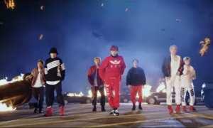 BTS di Mic Drop Remix bersama Steve Aoki dan Desiigner (Youtube)