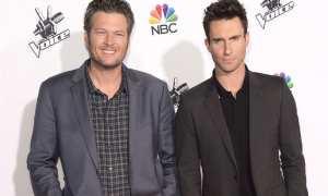 Blake Shelton (kiri) dan Adam Levine (kanan) (Billboard.com)