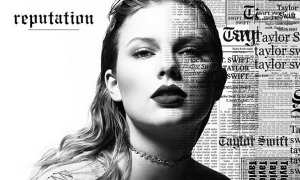 Cover album Reputation milik Taylor Swift (Instagram @taylorswift)