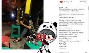 Duta Sheila On 7 makan mi ayam di warung lesehan (Instagram @lambe_turah)