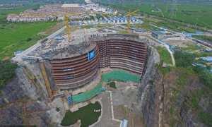 Rencana hasil jadi hotel Shimao Wonderland InterContinental Quarry (Shanghaiist)