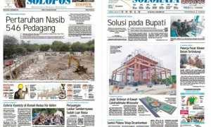 Harian Umum Solopos edisi Selasa 14 November 2017